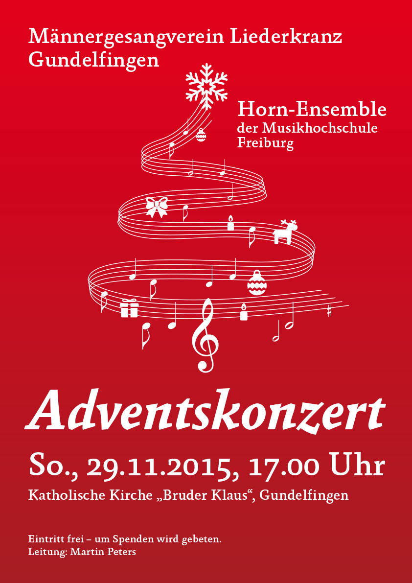 MGV Plakat Advent 2015